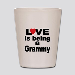 Love is being a Grammy Shot Glass