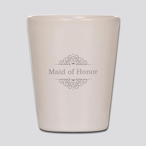 Maid of Honor in silver Shot Glass