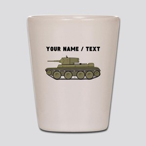 Custom Military Tank Shot Glass