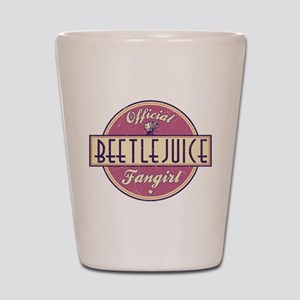 Official Beetlejuice Fangirl Shot Glass