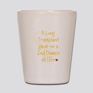 2nd Chance At Life (Lung) Shot Glass