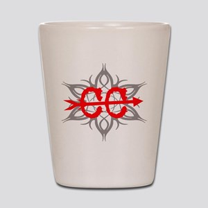 Cross Country Tribal Shot Glass