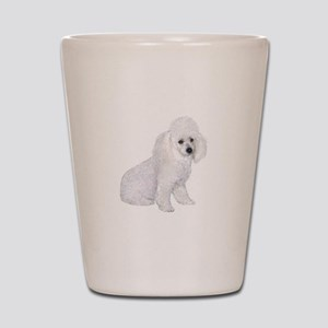 Poodle (W3) Shot Glass