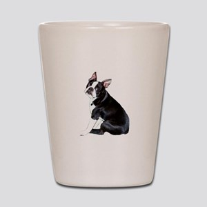 Boston Terrier #4 Shot Glass