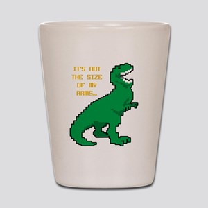 8 Bit T-Rex Short Arms Shot Glass