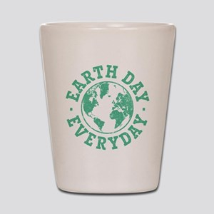 Vintage Earth Day Everyday Shot Glass