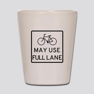 May Use Full Lane Shot Glass