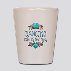 Dancing Heart Happy Shot Glass