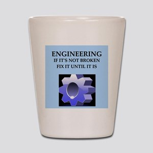 funny engineer joke Shot Glass
