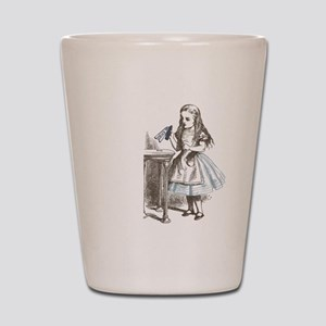 Alice in Wonderland drink me Shot Glass