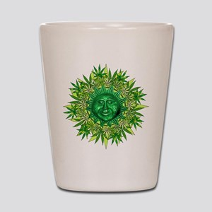 Marijuana Sunshine Shot Glass