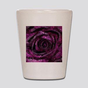 Rose - Abstract 006 Shot Glass