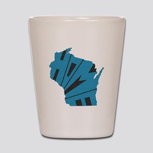Wisconsin Home Shot Glass