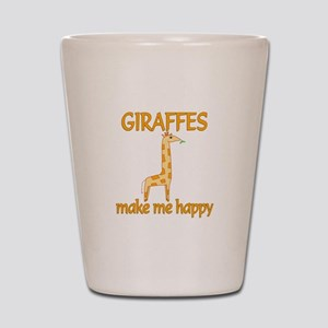Giraffe Happy Shot Glass