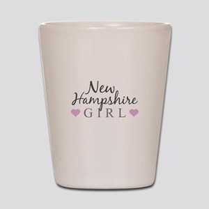 New Hampshire Girl Shot Glass