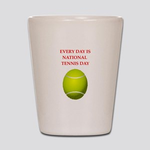 tennis Shot Glass