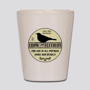 CROW FEATHERS Shot Glass