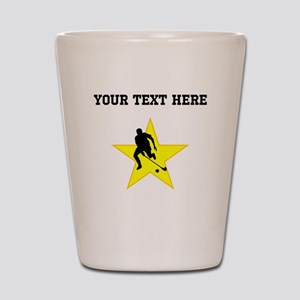 Field Hockey Player Silhouette Star (Custom) Shot