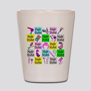 TOP HAIR STYLIST Shot Glass