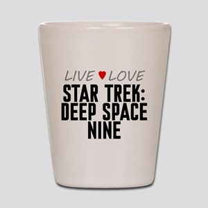 Live Love Star Trek: Deep Space Nine Shot Glass