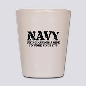 NAVY Shot Glass