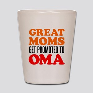 Promoted To Oma Drinkware Shot Glass
