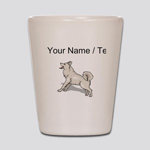 Alaskan Malamute (Custom) Shot Glass