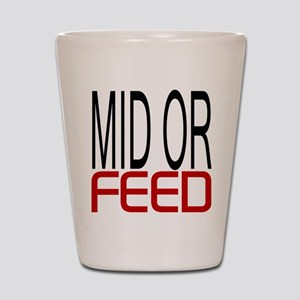 Mid Or Feed Shot Glass