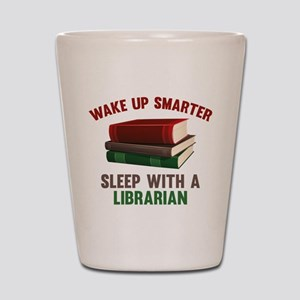 Wake Up Smarter Sleep With A Librarian Shot Glass