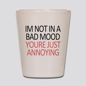 Bad Mood Shot Glass