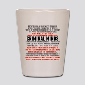 Criminal Minds Team Shot Glass