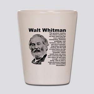 Whitman Inequality Shot Glass