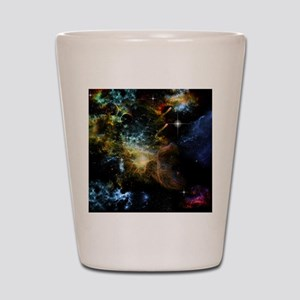 Awesome universe Shot Glass