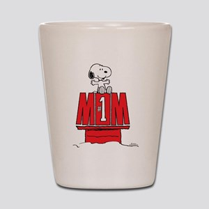 Snoopy - Mom #1 Shot Glass