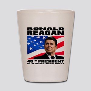 40 Reagan Shot Glass