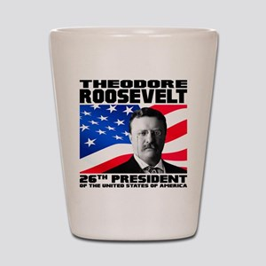 26 Roosevelt Shot Glass
