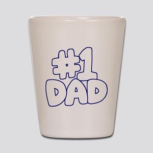 Number 1 Dad Shot Glass
