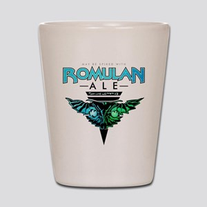 Romulan Ale Shot Glass