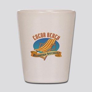 Cocoa Beach Relax - Shot Glass
