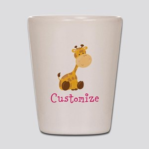 Custom Baby Giraffe Shot Glass