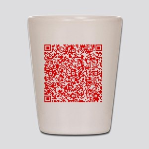 Personal Protection QR for your Stuff Shot Glass