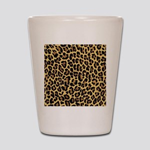 Leopard/Cheetah Print Shot Glass