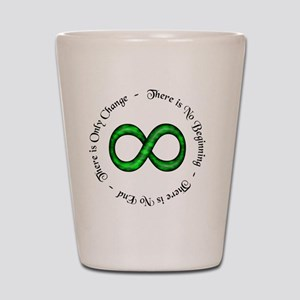 Infinite Change Shot Glass