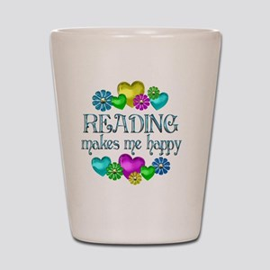 reading Shot Glass