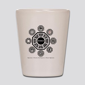Dharma Stations Shot Glass