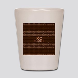 XC Runner brown Shot Glass