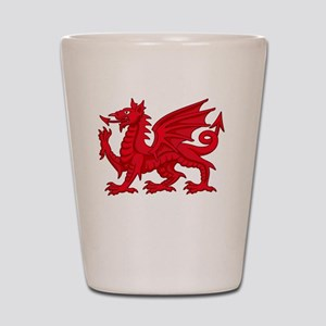 Welsh Dragon Shot Glass
