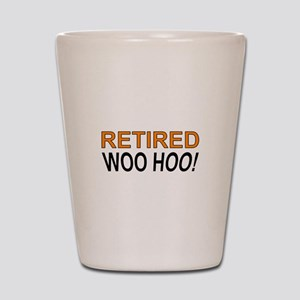 Retired Woo Hoo Shot Glass