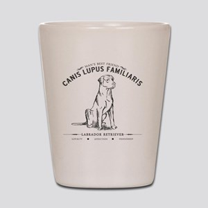 Vintage Labrador Shot Glass