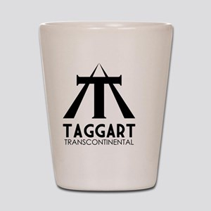 Taggart Transcontinental Black Shot Glass
